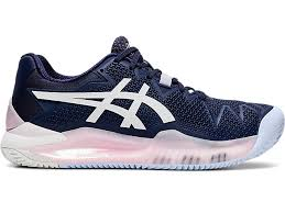 Bilde av Asics Gel Resolution 8 Clay Women Peacoat/White